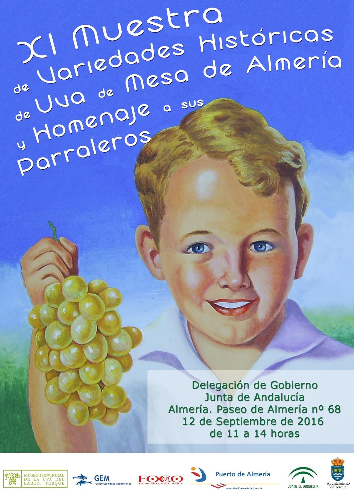 Museos de terque apolog a radical de las cosas viejas xi muestra de variedades de uva de mesa - Variedades de uva de mesa ...