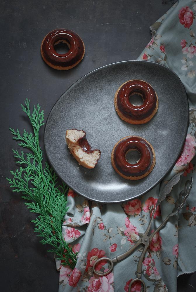 baked-chestnut-chocolate-donuts-castaña-chocolate-horno-dulces-bocados
