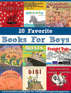 http://www.sweetlittleonesblog.com/2016/04/20-favorite-picture-books-for-boys.html