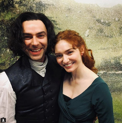Aidan Turner, Eleanor Tomlinson, Christmas