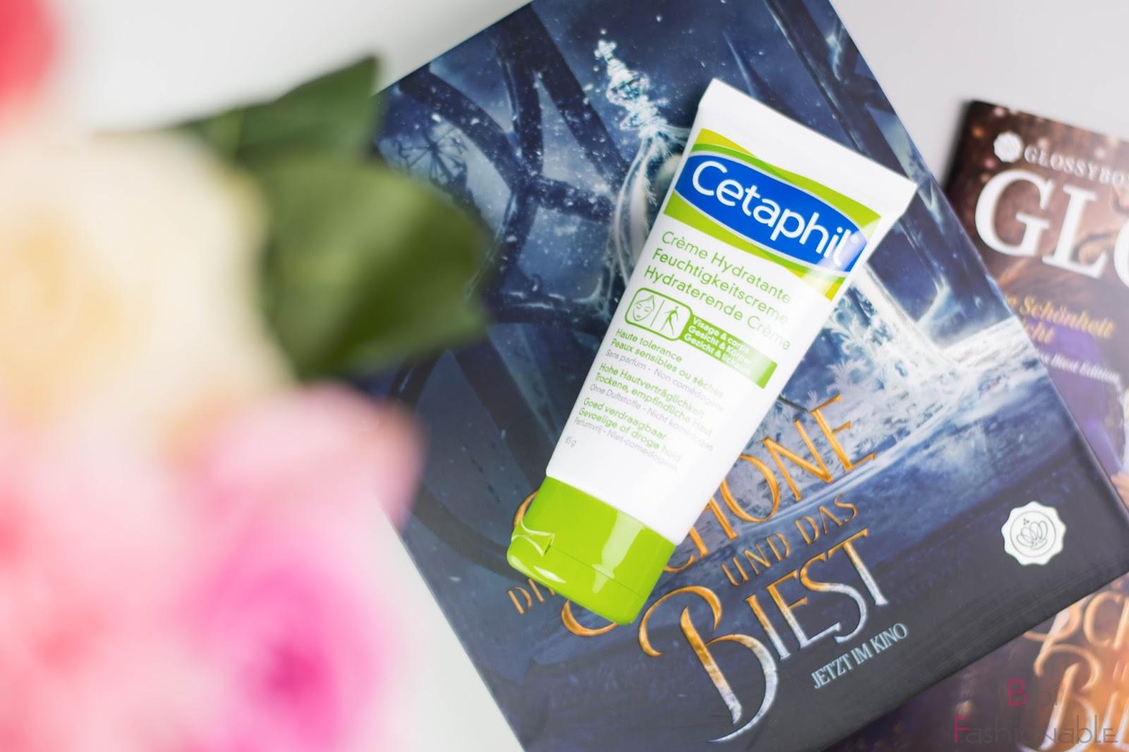 Unboxing Glossybox die Schöne und das Biest Cetaphil Feuchtigkeitscreme