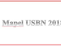 Daftar Mapel USBN SD SMP SMA SMK Terbaru 2018
