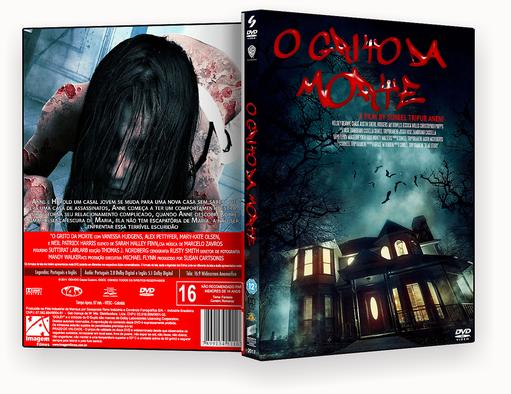 O GRITO DA MORTE DVD-R – CAPA DVD