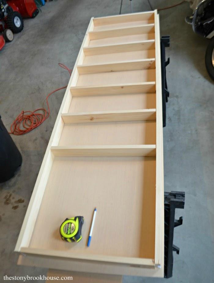Building Spice Organizer Door