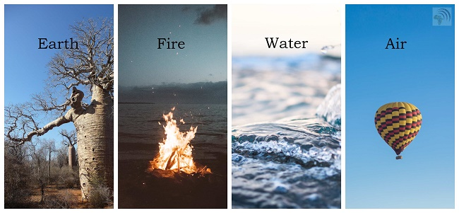 Earth Fire Water Air Spirits
