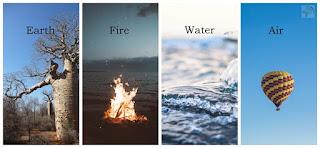 Earth Fire Water Air Spirits