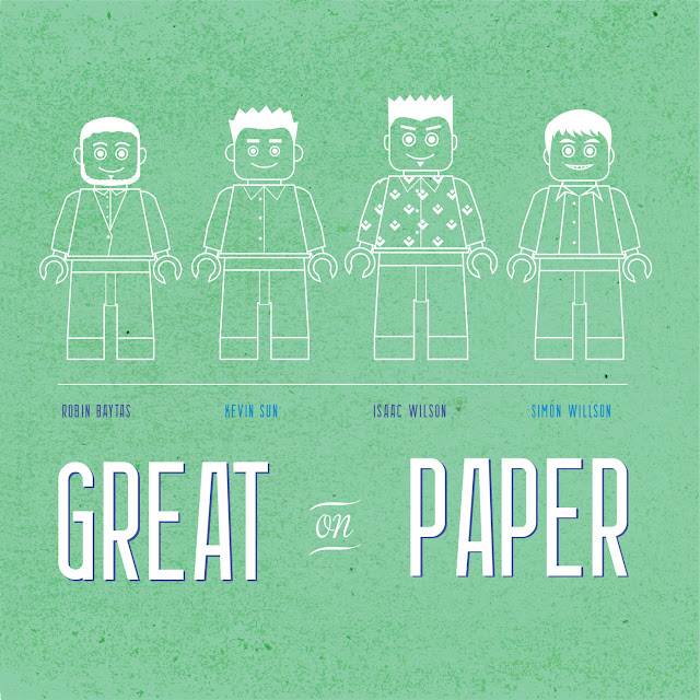 Great On Paper the Album, Kevin Sun, Isaac Wilson, Simón Willson, Robin Baytas, Postmodern Jazz