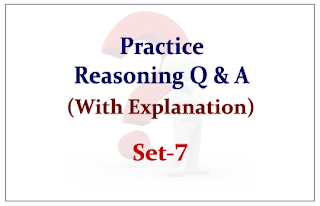 Practice Reasoning Questions (with explanation) for Upcoming Bank PO and Clerk Exams 2015 Set-7