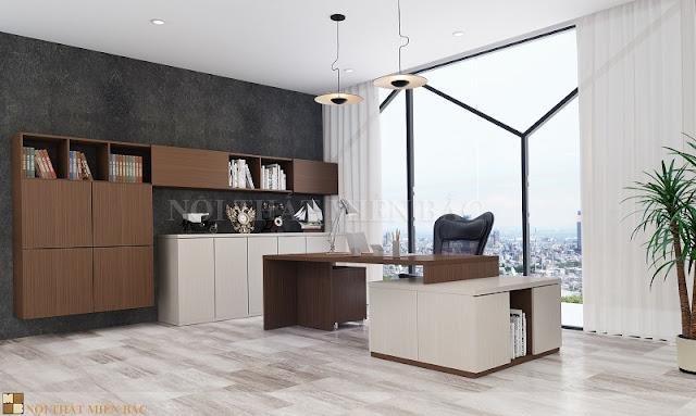 Tư vấn thiết kế nội thất phòng giám đốc đẹp - H3