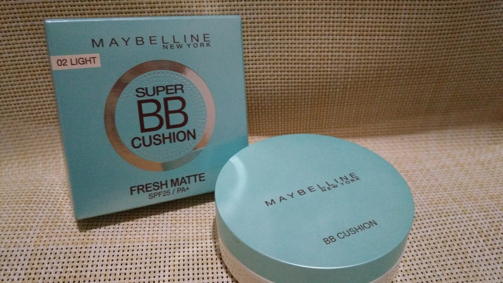 Review Make Up Maybelline Super Bb Cushion Fresh Matte Selama 10 Mat 02 Light