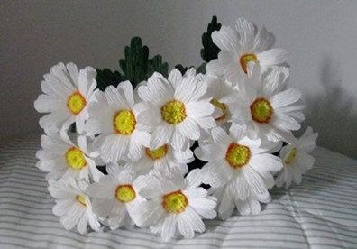 nguyen lieu lam hoa giay nhun o Xuan Thuy