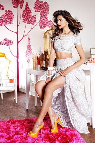 Photo of Deepika Padukone Inside her Home, in her Bedroom