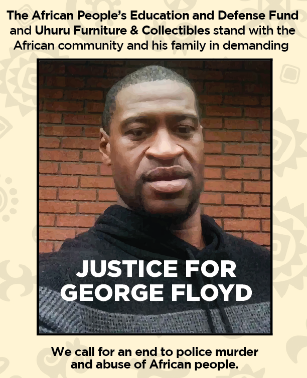 Justice for George Floyd!