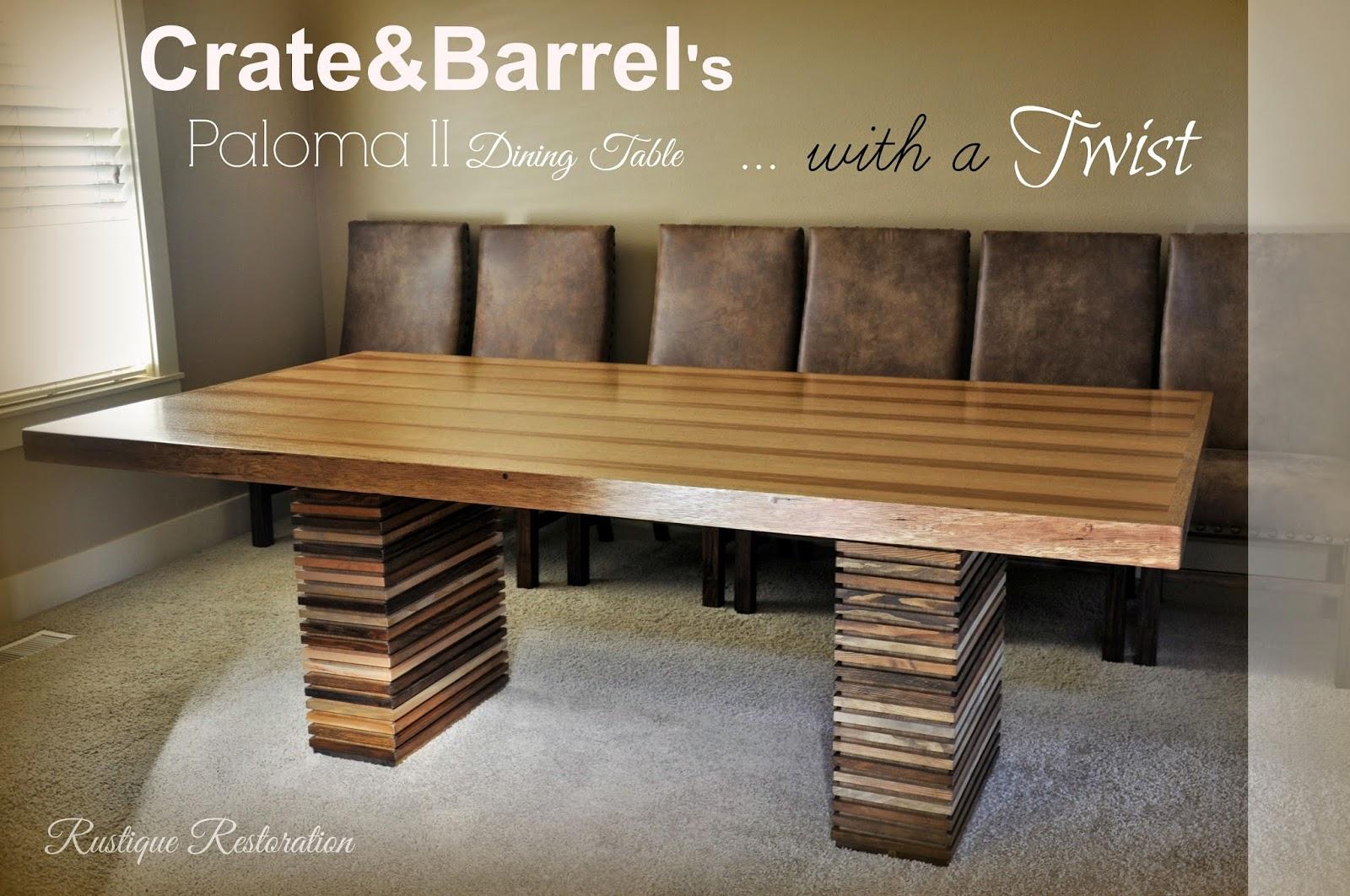 Rustique Restoration: Crate&Barrel's Paloma II Dining ...