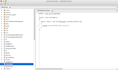 JDProject Java Decompiler