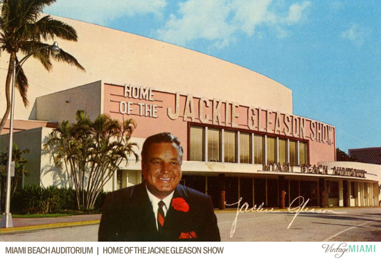 Before It Was Known As The Jackie Gleason Theater Of Performing Arts Miami Beach Auditorium Housed Show Which Included Later