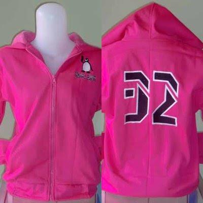 HOODIE Sweater Kupluk IBNU SINA DEPOK Pink Tua