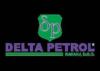 Delta Petrol Logo Vector