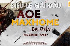 Điều lệ giải đấu AoE MAXHOME Đại Chiến: Ban tổ chức quay map đấu, game thủ được phép chọc dò đời 2