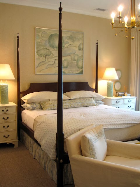 Bedroom design ideas decorating above your bed driven - Master bedroom art above bed ...