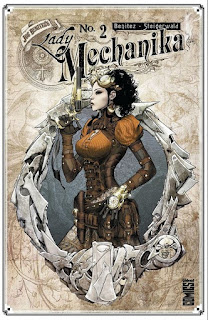 lady mechanika tome 2 glénat comics