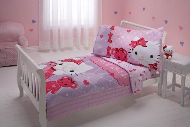 Kamar Tidur Anak Perempuan Hello Kitty