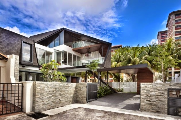 50 Singapore Houses on architectural style house
