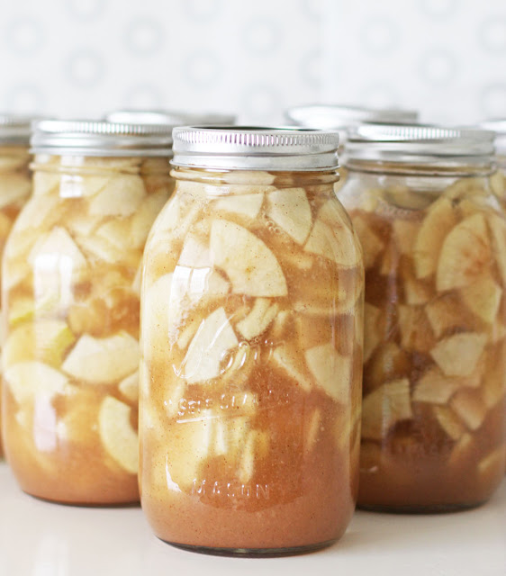 V And Co.: V And Co: How To Make: Canned Apple Pie Filling
