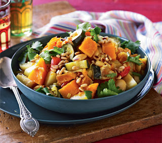 Moroccan Style Butternut Squash and Lima Beans Recipe