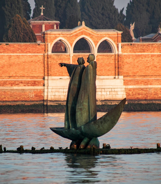 The Barque of Dante by Gyorgy Frangulyan, Venice