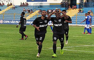 Atlântico-BA perde para o Botafogo