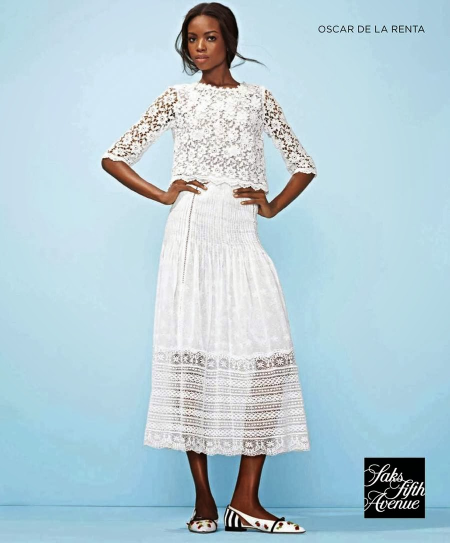 Saks Fifth Avenue Spring/Summer 2014 Campaign