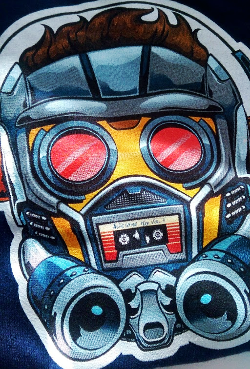 Star-Lord Boombox tee - detail