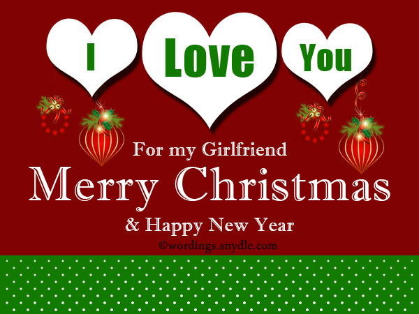 Christmas Greetings Cards for Girlfriend Free Download: