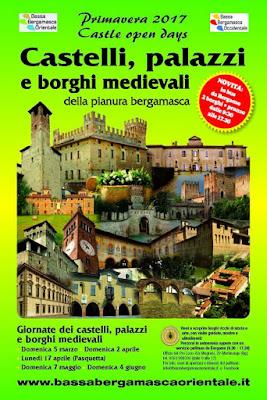 Giornate dei castelli, palazzi e borghi medievali da 5 marzo al 4 giugno Bergamo