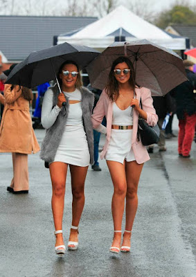 Raining at the races