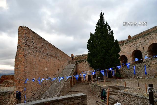 Ναύπλιο: Γιορτάζει το ιστορικό εκκλησάκι του Αγίου Ανδρέα στο Παλαμήδι (βίντεο)