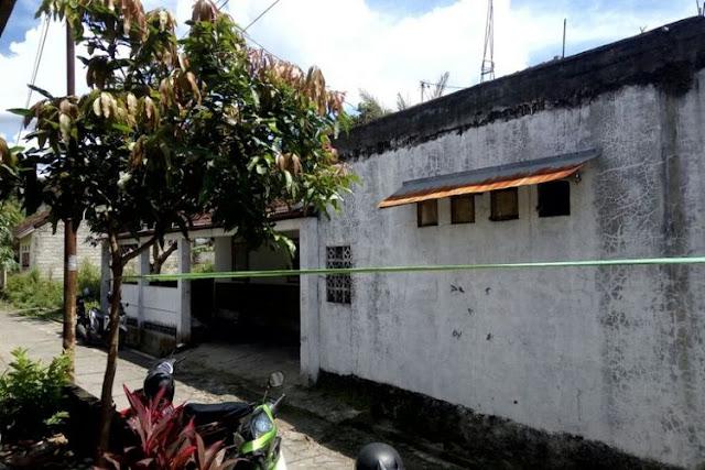 Rumah TAW di Dusun Krajan, Tirtomartani, Kalasan, Sleman.