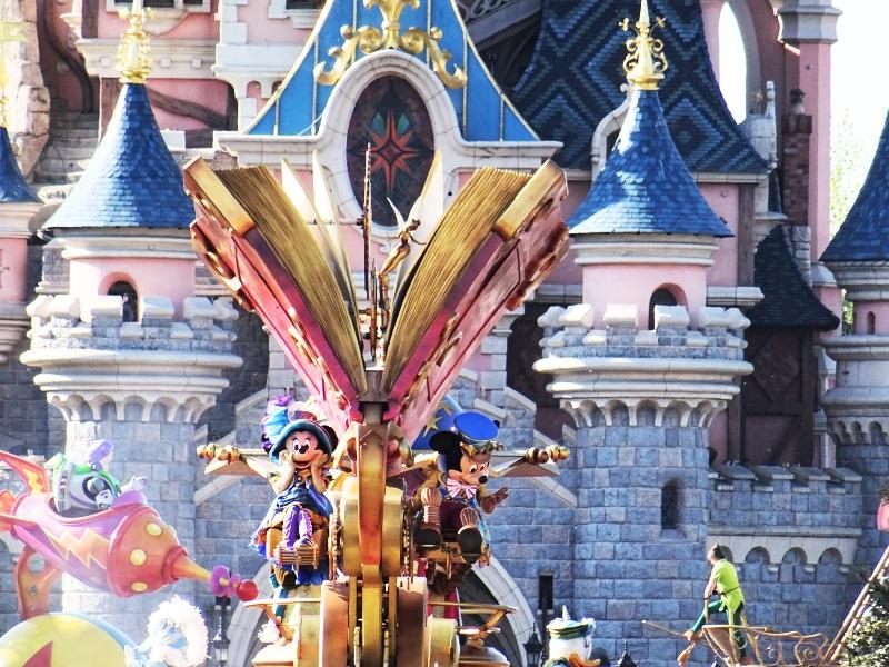 Parade à Disneyland Paris