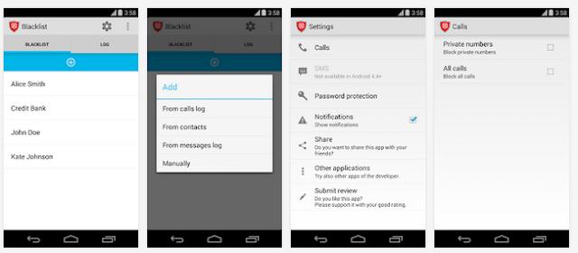 Aplikasi blacklist telepon di android