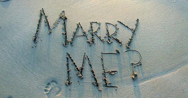 предложение за брак на брега на моерто