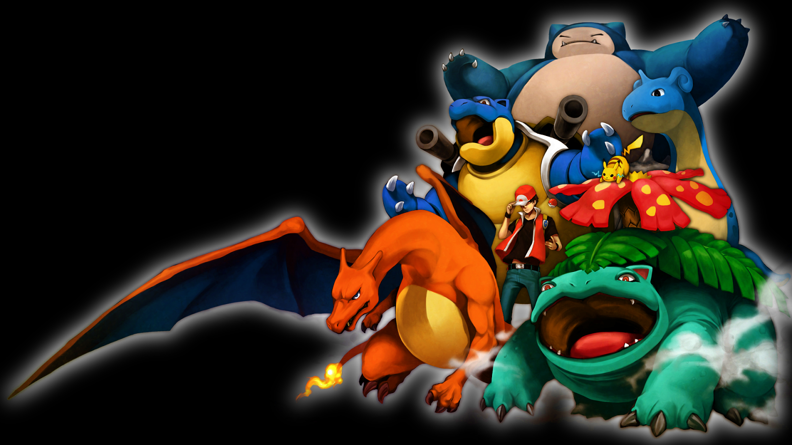 POKEMON MONSTERS HD WALLPAPER Gambar Kartun Lucu Dan Wallpaper