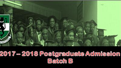 UNN Primary Postgraduate Admission List 2017/2018 Released