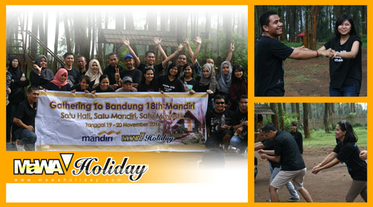 Paket Outbound di Bandung Harga Murah Berkombinasi Wisata Alam