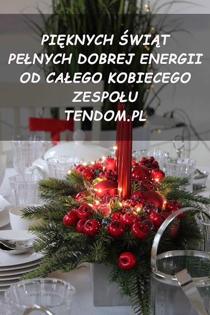 Życzenia świąteczne od tenDOM.pl
