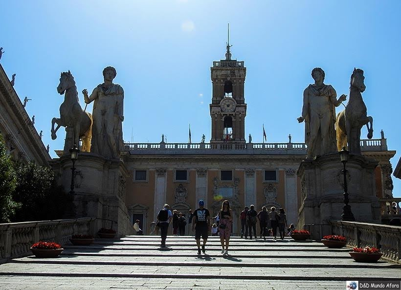 Monte Capitolino - O que fazer em Roma, Itália