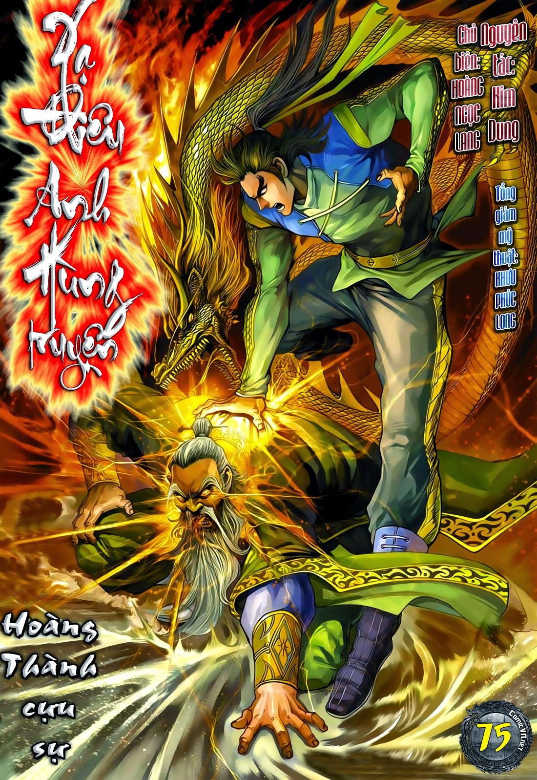 Anh Hùng Xạ Điêu anh hùng xạ đêu chap 75: hoàng thành cựu sự trang 1