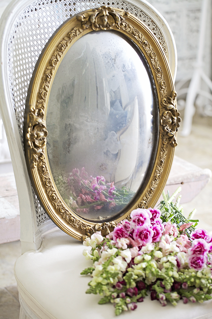How To Make A Mirror From A Picture Frame - shabbyfufu.com