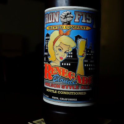 Renegade Blonde Ale: photo by Cliff Hutson