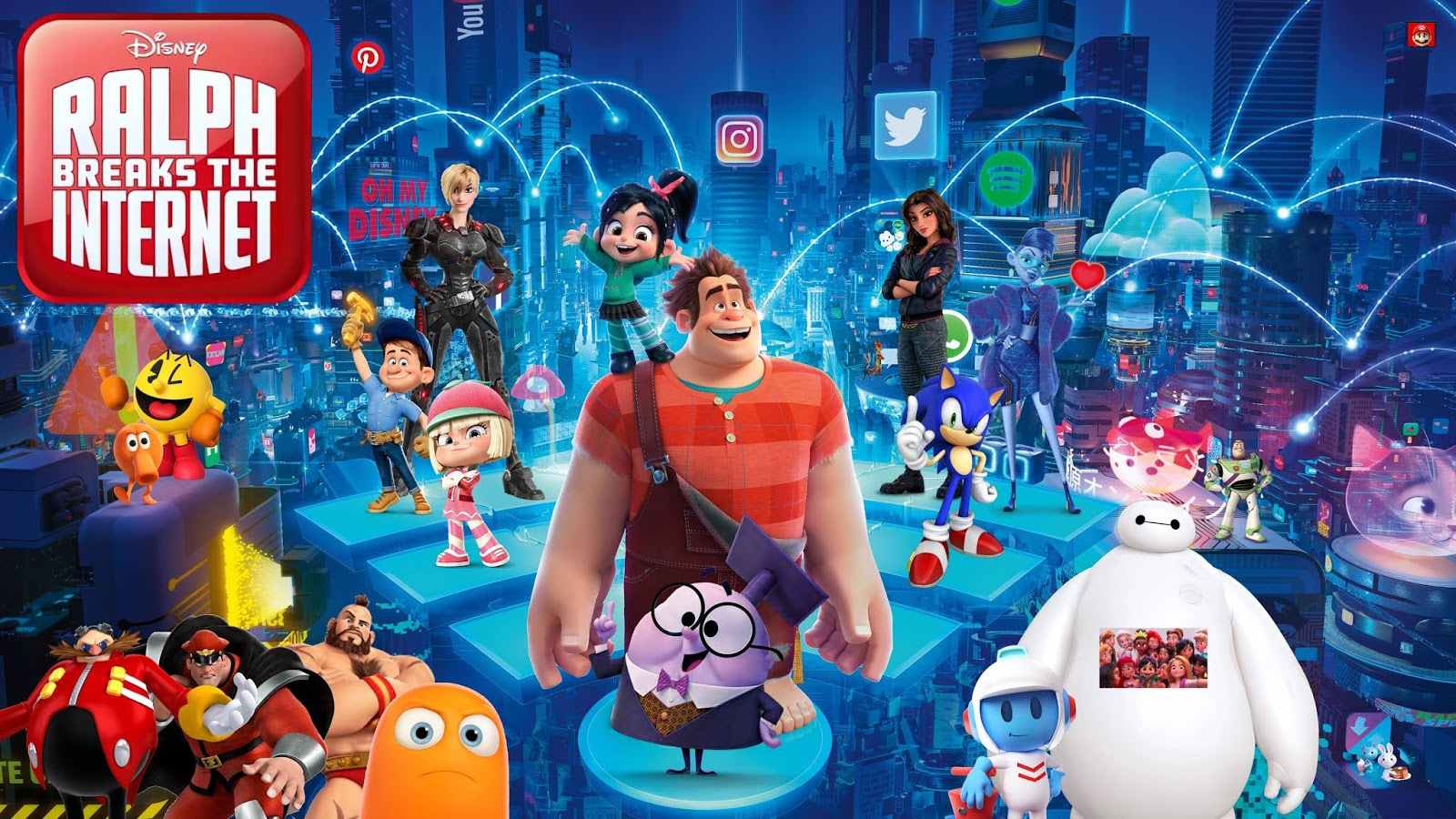 Mr Gordo S House Of Fallen Articles New Review Ralph Breaks The Internet 2018